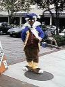Next: A costumed character I found out on the street. Not sure who he(?) was affiliated with.
