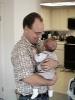 Next: Stan Pluta and his son Darwin Stanley Pluta.