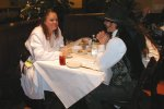 Previous: Sue Dawe dining with a friend at the Daily Grill.