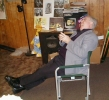 Previous: Charles Lee Jackson II leaning back in his chair.