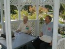 Previous: Vernor Vinge and Cary Meriwether in the Autographing Gazebo.