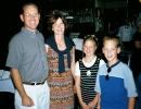 Tom Quinn, Geri Quinn, Lindsey Quinn, Derek Quinn.