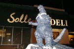 Godzilla vs. Solley's.