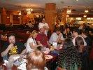 Previous: Far side of table: Michael Mason, Joan Steward, Scott Beckstead, Eric Pobirs standing, Edward Hooper in stripes, Kris Bauer, Diana Molisani. Near side of table: somebody\