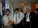 Previous: Some of the Lux Radio Theater Players. Shawn Crosby at left, Dave Hogan in black hat, Scott Martin in back, and John Bryson in white hat.