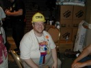 "Next: Alexander Von Thorn, wearing a ""Torcon 3 Programming"" hard hat."