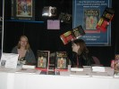 Previous: Cheyenne Grewe, Kim Gammon at the Edge Science Fiction and Fantasy Publishing table.