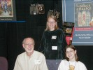 Previous: Edge Publishing gang. Brian Hades seated, Cheyenne Grewe standing, and Kim Gammon seated.
