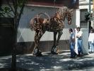 """Next: """"Mechanical"""" horse sculpture."""