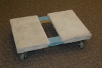 """Previous: Furniture dolly. Bill of materials: Two 2x4x30"""" - get 5 feet of 2x4 and cut it in half (30"""" lengths); Two 2x12x20"""" - get 3\"""