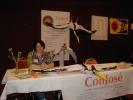 Next: Sandra Childress at Con Jose table.
