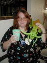 Previous: Geri Sullivan with Gregarious Grasshopper and Toad Hall cup.