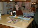 Previous: Joyce Katz, our hostess.
