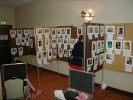 Next: Fan Gallery, partially set up at the back of the Art Show.