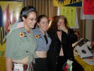 Previous: Maria Rodriguez, Colleen Crosby, Liz Mortensen - The Space Cadettes.