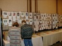 Next: The Fan Gallery at Windycon after Christian and I set it up. It\
