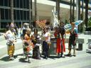 Previous: Joey James, Johann Pacla, Naomi Toledo, Rena Tran, Jay Jay Cho, Eric Szeto as Auron, Cody Pang, all as characters from Final Fantasy 10.