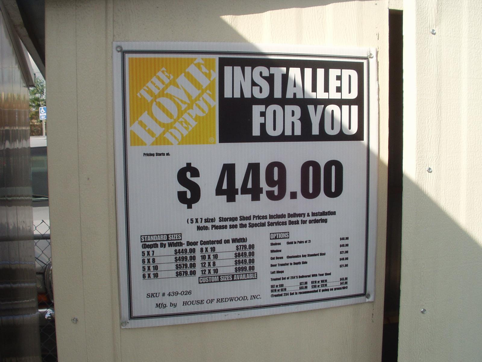 ^ Sheds Home Depot. 12x20 Shed Home Sheds Windsor Locks tdiy Wooden ...