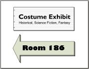 Costume Exhibit sign proposal