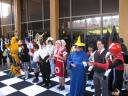 Someone, someone else, somebody, somebody else, and 7 others. Cosplay Chess.